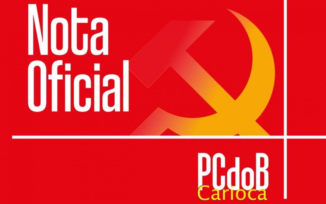 PCdoB carioca emite nota em que faz defesa da unidade nestas eleições