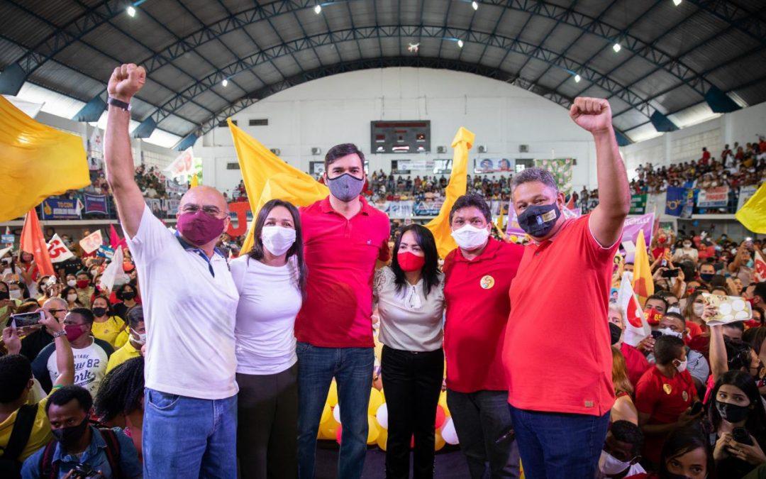Convenção de São Luís oficializa candidatura de Rubens Jr a prefeito da capital maranhense