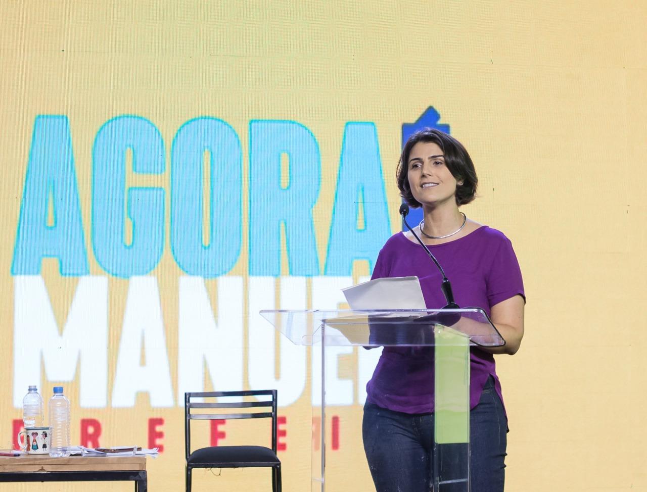Convenção inovadora oficializa Manuela e Rossetto (PT) candidatos à Prefeitura de Porto Alegre