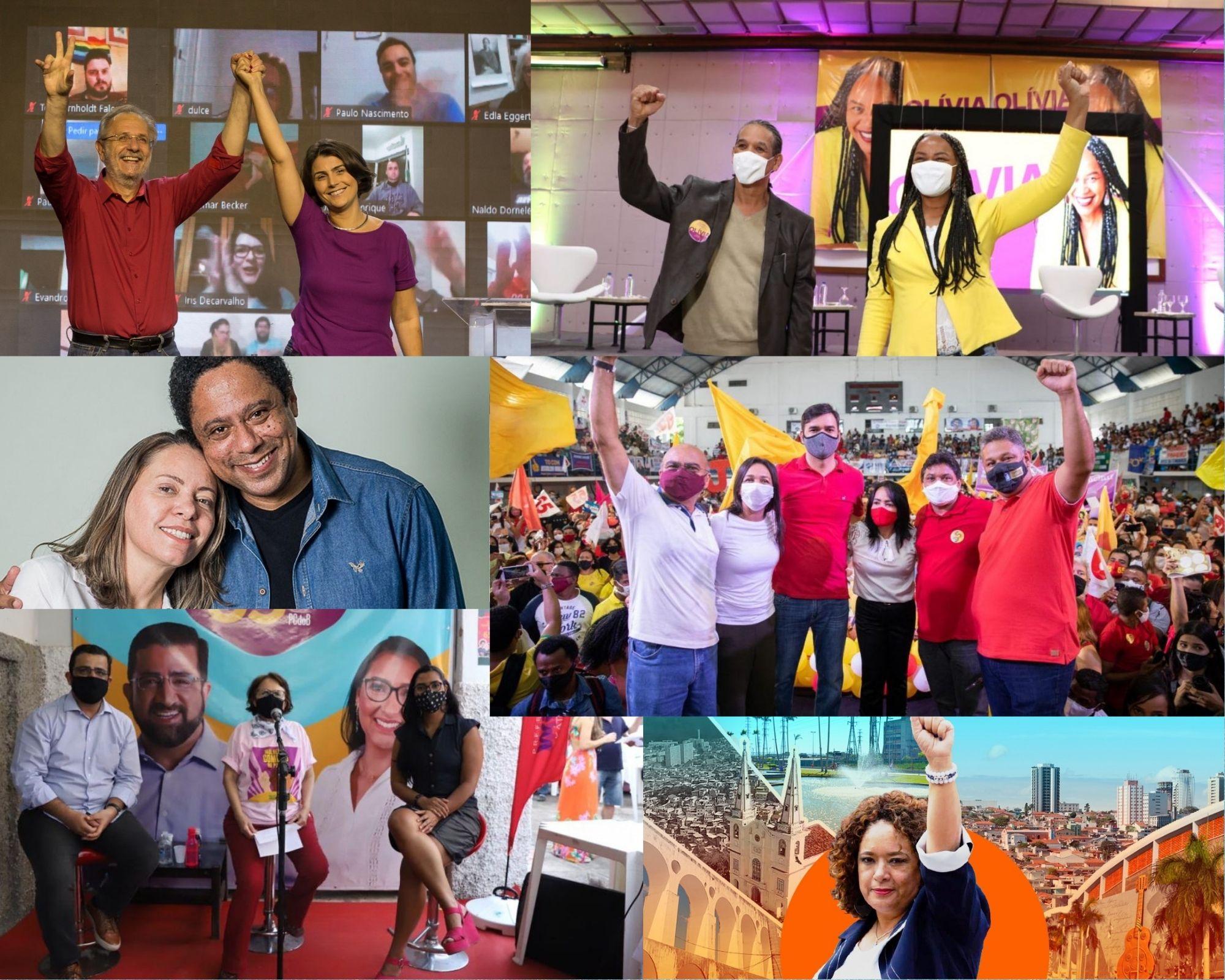 PCdoB lança número inédito de candidaturas nas capitais do país