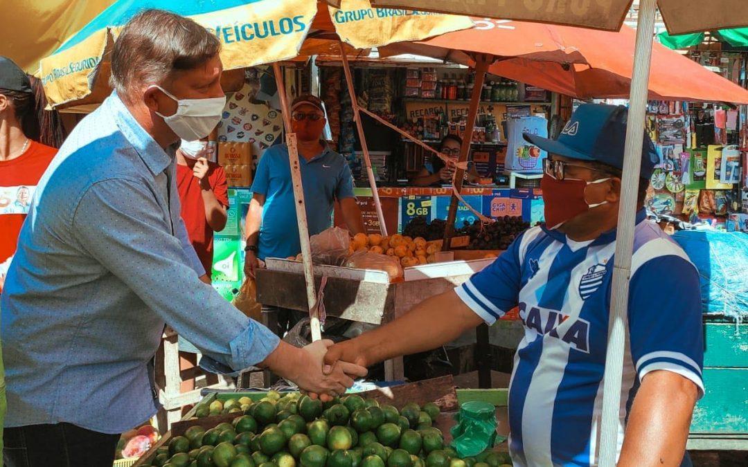 Cícero Filho apresenta propostas para criar empregos nas periferias de Maceió