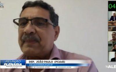 João Paulo aponta relação entre neoliberalismo e aumento do desemprego no País
