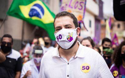 Boulos vence Covas por 63% a 37% em buscas no Google