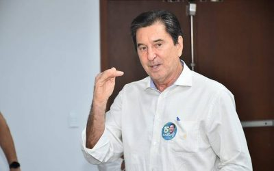 Internado por Covid-19, Maguito Vilela lidera em Goiânia com 54% das intenções de votos