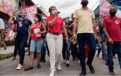 Marília Campos, apoiada pelo PCdoB, lidera as pesquisas no segundo turno em Contagem