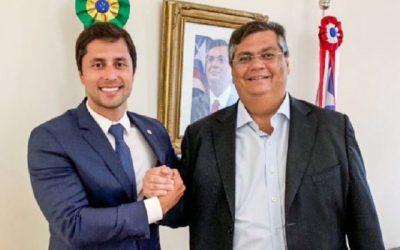 """Flávio Dino declara apoio """"firme e decidido"""" a Duarte Jr no segundo turno em São Luís"""