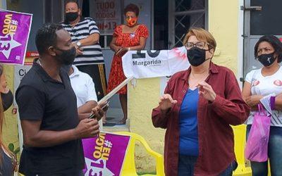 Margarida Salomão, apoiada pelo PCdoB, é a primeira mulher eleita prefeita de Juiz de Fora