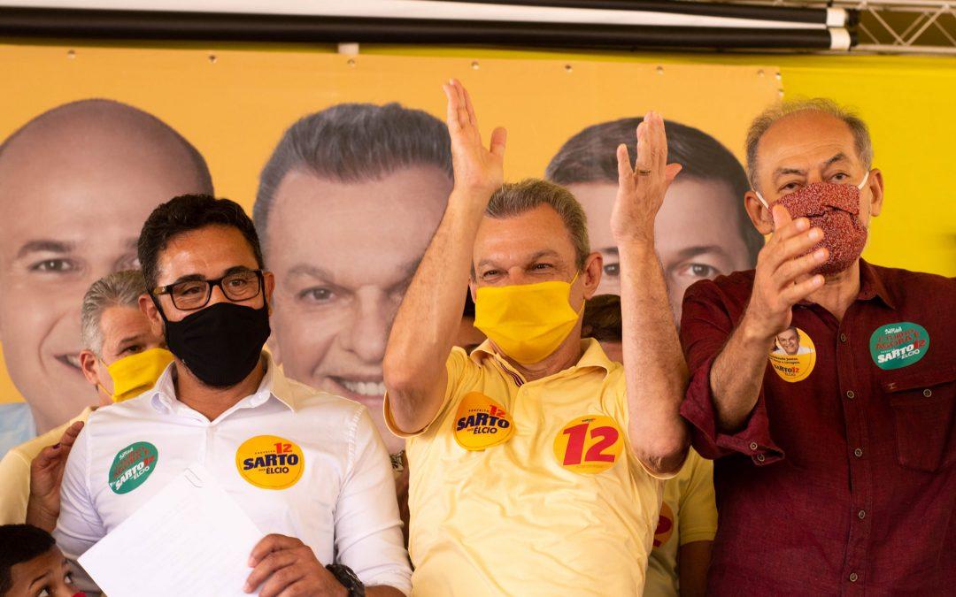Ex-candidato, Professor Anízio, oficializa apoio à candidatura de Sarto Nogueira (PDT) no segundo turno em Fortaleza