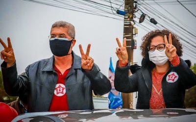 Potencial Pesquisa: Zé Raimundo e Luciana Oliveira saem na frente com 40% das citações em Vitória da Conquista