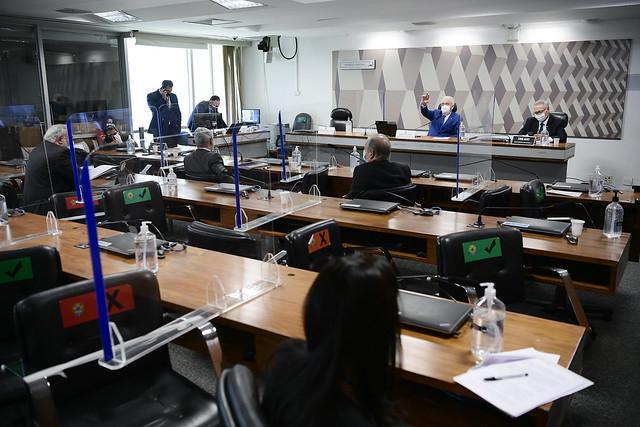 Acompanhe ao vivo a sessão da CPI da Covid desta terça-feira (21)